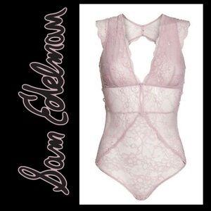 Sam Edelman Womens Capsleeve lace bodysuit